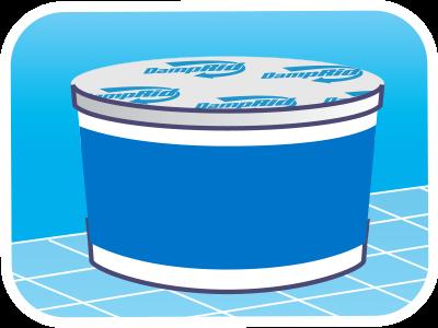 Hi Capacity Absorbers 4 Lb Tub Fresh Scent Damprid
